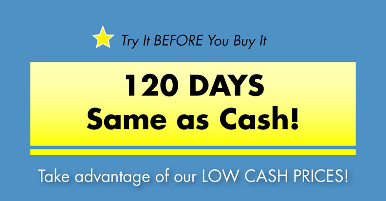 120 Days Same As Cash